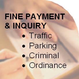 Click Here to Inquire on or Pay a Fine
