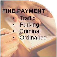 Click here to inquire on or pay a fine.