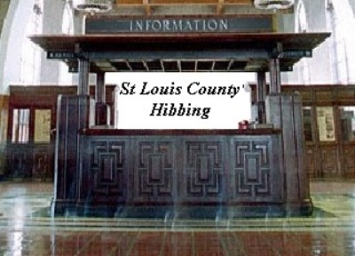 St Louis County Hibbing Information Booth