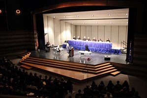 The MN Supreme Court hears Oral Arguments before 750 students from Wayzata High School
