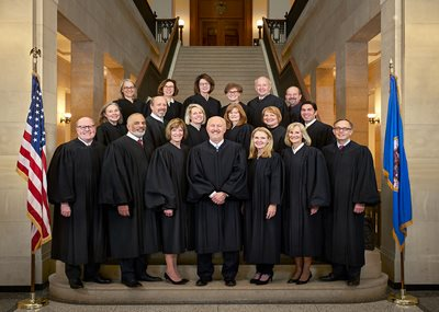 Photo of the members of the Minnesota Court of Appeals