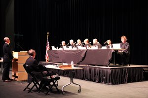 The MN Supreme Court hearts Oral Arguments at Alexandira Area High School