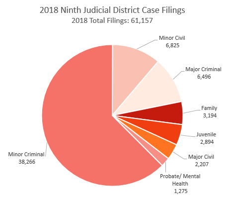 Ninth district case filings